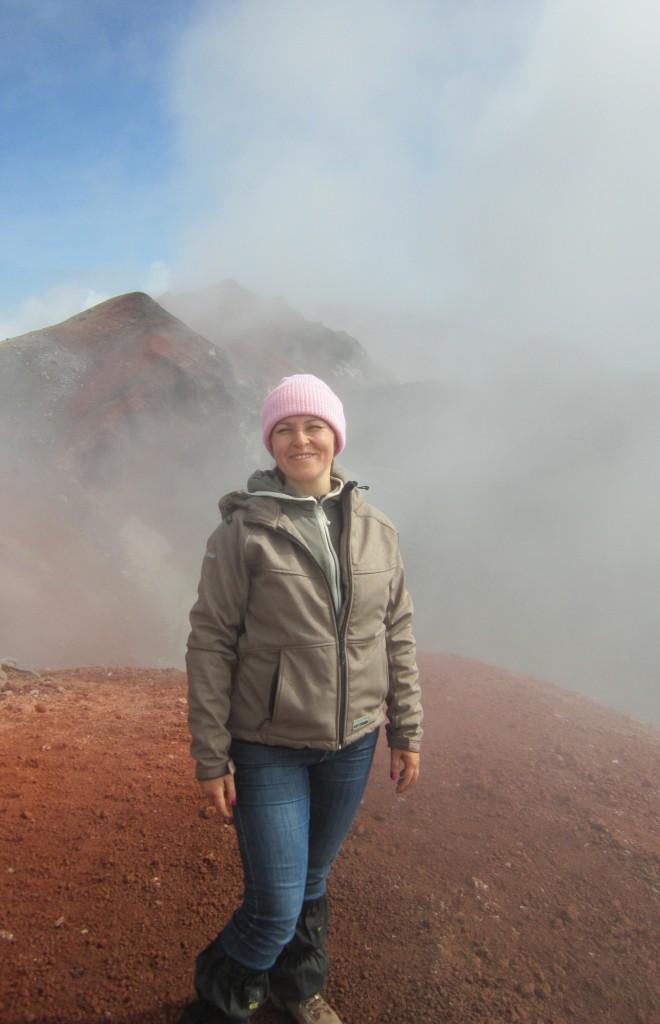 На Авачинском вулкане (Виктория Горюнова)